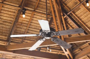 Best outdoor ceiling fans is hanging on the patio